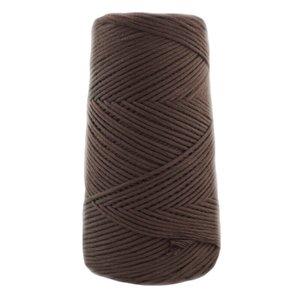 Cono algodón peinado Casasol Grosor L 100 gramos 1904 Marrón Choco