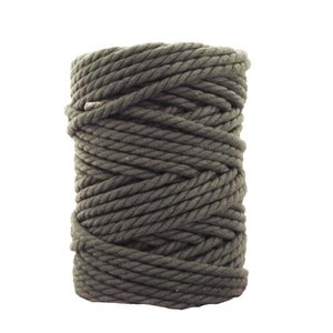 Bobina de cordón para macramé 7 mm 650 gr Verde aguacate