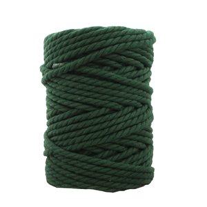 Bobina de cordón para macramé 7 mm 650 gr Verde botella