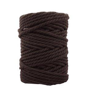 Bobina de cordón para macramé 7 mm 650 gr Chocolate