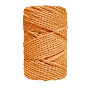 Bobina de cordón para macramé 3 mm 400 gr Mostaza