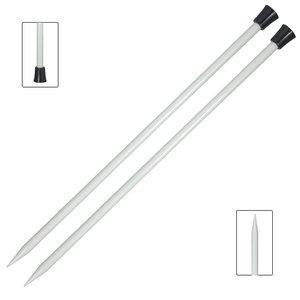 Agujas de punto 30 cm Knitpro Basix Aluminium 4 mm