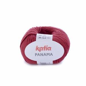 Hilo de algodón Katia Panamá Frambuesa Claro