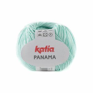 Hilo de algodón Katia Panamá Verde Pastel