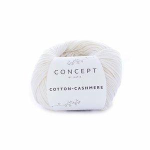 Hilo de algodón Katia Cotton Cashmere Crudo