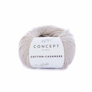 Hilo de algodón Katia Cotton Cashmere Beige