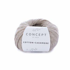 Hilo de algodón Katia Cotton Cashmere Camel