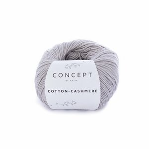 Hilo de algodón Katia Cotton Cashmere Piedra