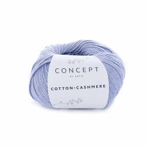 Hilo de algodón Katia Cotton Cashmere Azulina