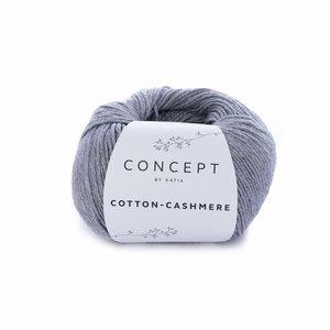 Hilo de algodón Katia Cotton Cashmere Gris