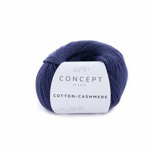 Hilo de algodón Katia Cotton Cashmere Marino