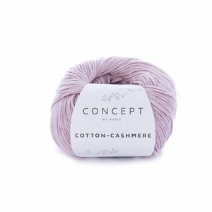 Hilo de algodón Katia Cotton Cashmere Malva Claro
