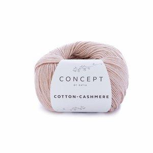 Hilo de algodón Katia Cotton Cashmere Salmón Claro