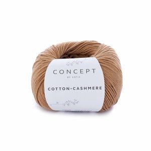 Hilo de algodón Katia Cotton Cashmere Marrón