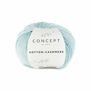 Hilo de algodón Katia Cotton Cashmere Azul