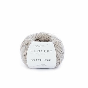 Hilo de algodón Katia Cotton Yak Beige natural