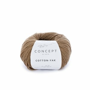 Hilo de algodón Katia Cotton Yak Marrón