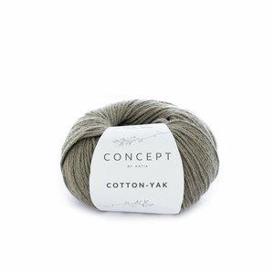 Hilo de algodón Katia Cotton Yak Verde Militar