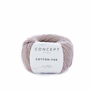 Hilo de algodón Katia Cotton Yak Rosa sucio