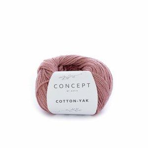 Hilo de algodón Katia Cotton Yak Coral