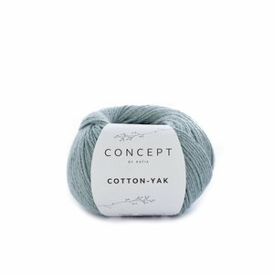 Hilo de algodón Katia Cotton Yak Verde Agua