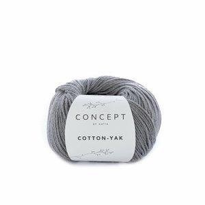 Hilo de algodón Katia Cotton Yak Gris claro