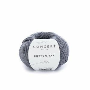 Hilo de algodón Katia Cotton Yak Antracita