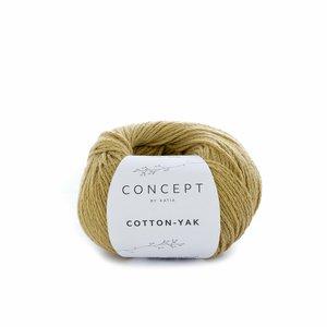 Hilo de algodón Katia Cotton Yak Mostaza