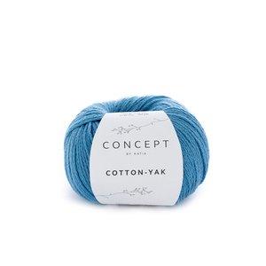 Hilo de algodón Katia Cotton Yak Turquesa