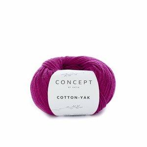 Hilo de algodón Katia Cotton Yak Fucsia