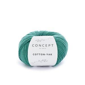 Hilo de algodón Katia Cotton Yak Verde