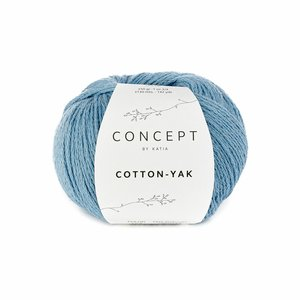 Hilo de algodón Katia Cotton Yak Azul