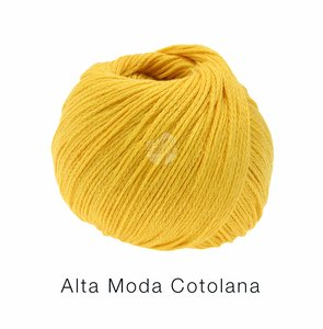 Hilado de lana y algodón Cotolana Lana Grossa 50 g Color 1 Amarillo
