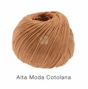 Hilado de lana y algodón Cotolana Lana Grossa 50 g Color 3 Canela