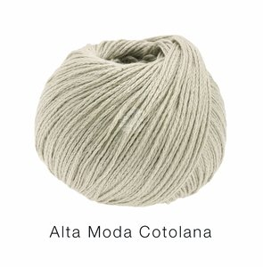 Hilado de lana y algodón Cotolana Lana Grossa 50 g Color 8 Greige