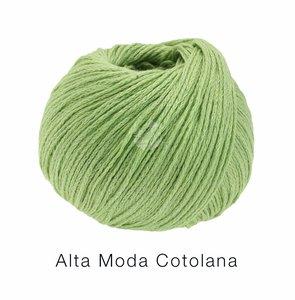 Hilado de lana y algodón Cotolana Lana Grossa 50 g Color 10 Verde manzana