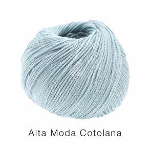 Hilado de lana y algodón Cotolana Lana Grossa 50 g Color 11 Azul hielo