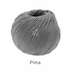 Algodón Pima Lana Grossa 50 g Color 24 Gris oscuro