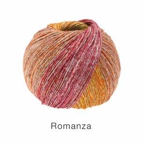 Hilado de lino y algodón Romanza Lana Grossa 50 g Color 1