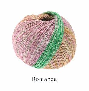 Hilado de lino y algodón Romanza Lana Grossa 50 g Color 2