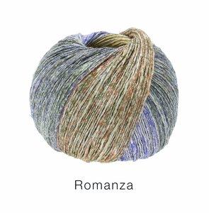 Hilado de lino y algodón Romanza Lana Grossa 50 g Color 3