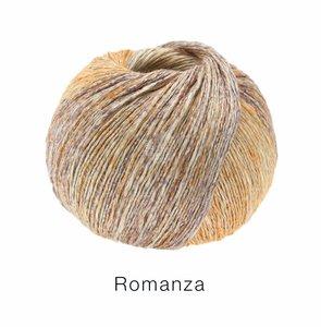 Hilado de lino y algodón Romanza Lana Grossa 50 g Color 4