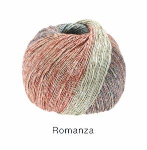 Hilado de lino y algodón Romanza Lana Grossa 50 g Color 5