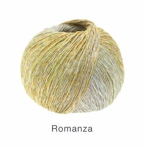 Hilado de lino y algodón Romanza Lana Grossa 50 g Color 6