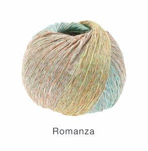 Hilado de lino y algodón Romanza Lana Grossa 50 g Color 7