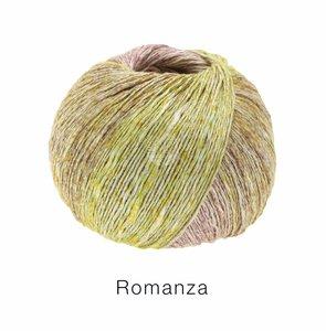 Hilado de lino y algodón Romanza Lana Grossa 50 g Color 8