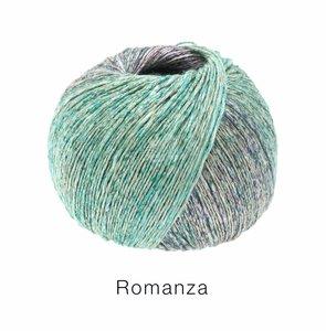 Hilado de lino y algodón Romanza Lana Grossa 50 g Color 9
