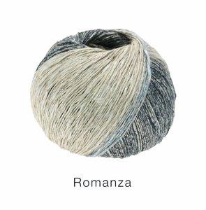 Hilado de lino y algodón Romanza Lana Grossa 50 g Color 10