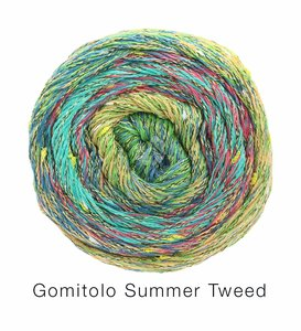 Hilado de algodón Cake Gomitolo Summer Lana Grossa 100 g Color 9