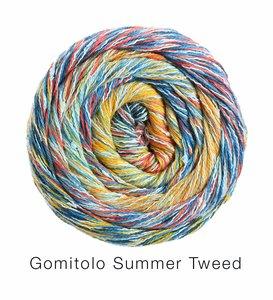 Hilado de algodón Cake Gomitolo Summer Lana Grossa 100 g Color 15